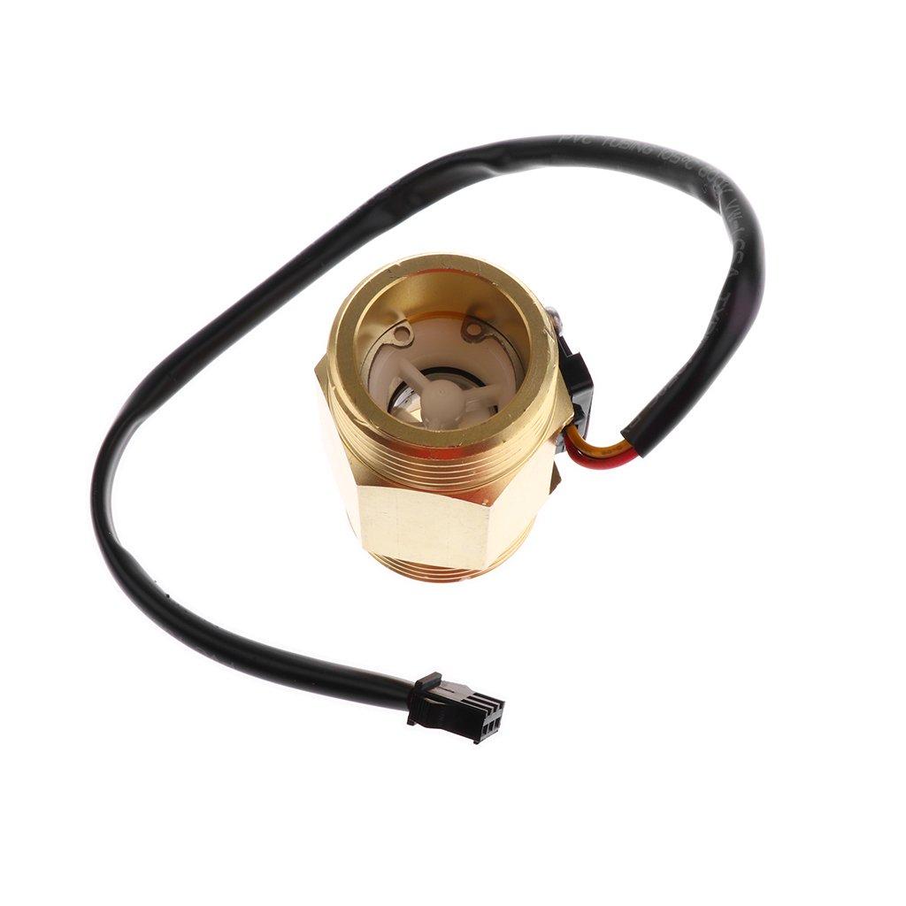 B Baosity G1  Water Room Threaded Copper Switch Switch Flow Sensor Water Control Flow Meter