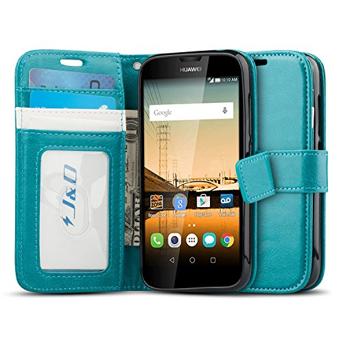 Huawei Union Case, J&D [Stand View] Huawei Union Wallet Case [Slim Fit] [Stand Feature] Premium Protective Case Wallet Leather Case for Huawei Union (View Union)
