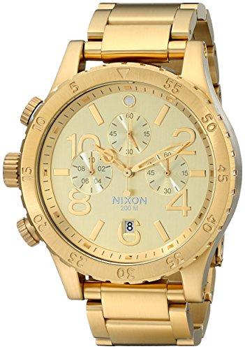 Nixon Men's A486502 48-20 Chrono Watch (Chrono Watch Diamond)