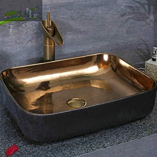 樹脂洗面台天然石楕円形埋め込み型磁器クローク洗面台洗面台ラバボカウンタートップシンク容器バスルームアート洗面台セラミックセラミック洗面台洗面台(カラー:デザイン2のみ)