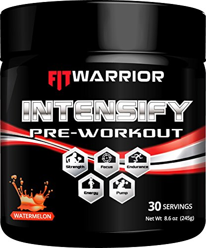 FIT-WARRIOR-INTENSIFY-Pre-workout-Watermelon-Energy-Drink-Mix-Enhanced-Endurance-Strength-and-Focus