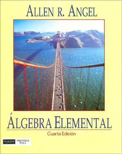 Algebra Elemental/ Elementary Algebra for College Students (Spanish Edition)