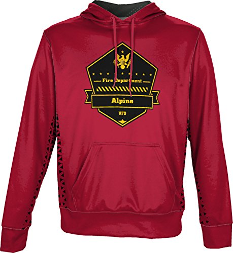 ProSphere Men's Viejas Fire Department Geometric Pullover Hoodie - Viejas Alpine