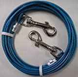 20′ Small to Medium Dog Tie Out Cable Leash 20 Ft, My Pet Supplies