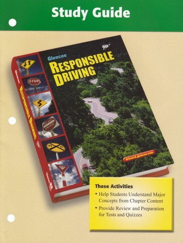 Responsible Driving, Study Guide (SPORTS'LIKE/RESPNS'BLE DRIVING) by McGraw-Hill Education - Ble Planet