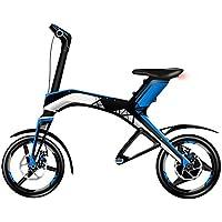 Weebot Robstep X1 Vélo électrique Mixte Adulte, Bleu/Noir