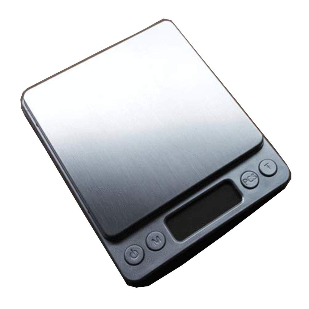 MiLanNuo Digital Scale 2000g x 0.1g Jewelry Gold Silver Coin Gram Pocket Size Herb Grain
