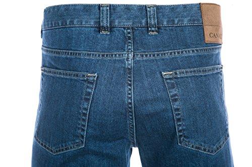 Canali Jean in Mid Blue Denim