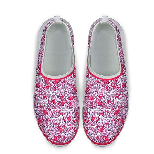 Knuffels Idee Dames Bresthable Mesh Slip Op Schoenen Loafers Shoes1