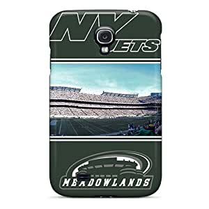 Slim Fit Tpu Protector Shock Absorbent Bumper New York Jets Case For Galaxy S4