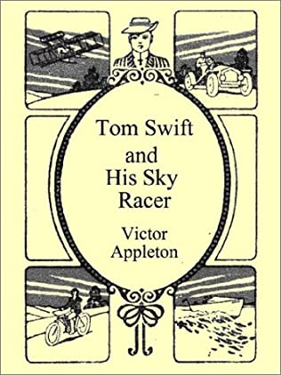 book cover of Tom Swift and His Sky Racer