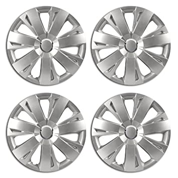 Energy Hub Caps 15 Inch Silver for Seat Arosa Cordoba Ibiza Inca Toledo Leon: Amazon.co.uk: Car & Motorbike
