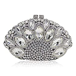 Diamond Studded Banquet Clutch