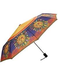 Compact Umbrella Canopy Auto Open/Close, 42-Inch, Harmony Under The Sun