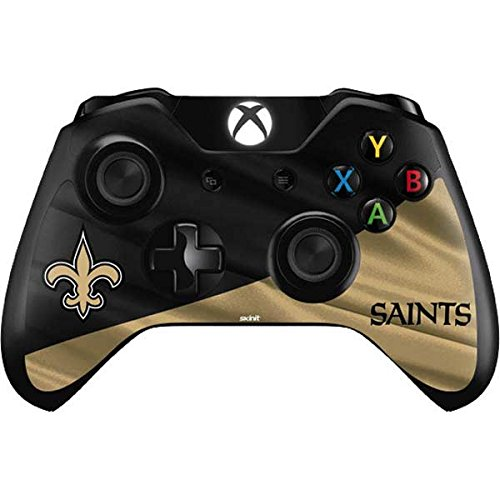 Saints New Controller Orleans (Skinit New Orleans Saints Xbox One Controller Skin - Officially Licensed NFL Gaming Decal - Ultra Thin, Lightweight Vinyl Decal Protection)