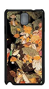 Custom Cover Case with Hard Shell Protection case for samsung galaxy note4 - Red maple leaves