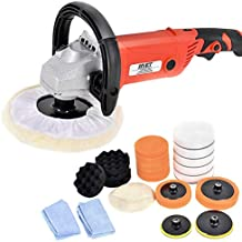 "Goplus 7"" Electric Car Polisher 6 Variable Speed Buffer Waxer Sander Detail Boat w/Case (Complete Set)"