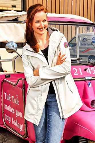 Giacca Weiß Impermeabile Friesennerz Ohne Logopatch Donna OH7wxwq