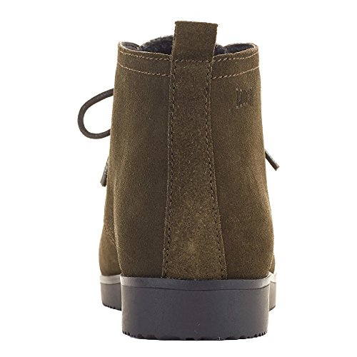 Cougar Chaussures Femmes Bottes De Daim Olive Daim