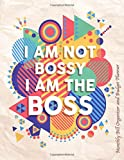 Monthly Bill Organizer and Budget Planner- I Am Not Bossy I Am The Boss: Extra Large 8.5 x11 Budget Book with Motivational Quotes