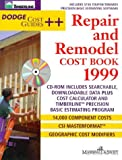 img - for Repair & Remodel Cost Book 1999 (Dodge Cost Guides) book / textbook / text book