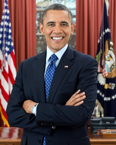 (Barack Obama Official Portrait 2nd Term December 2012 Photo American Presidents Photos 8x10 )