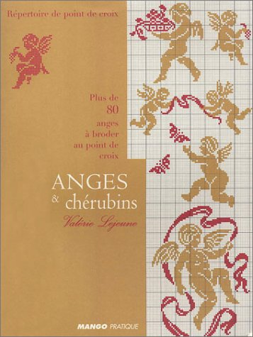 Download Anges & chérubins : Plus de 80 anges à broder au point de croix pdf epub