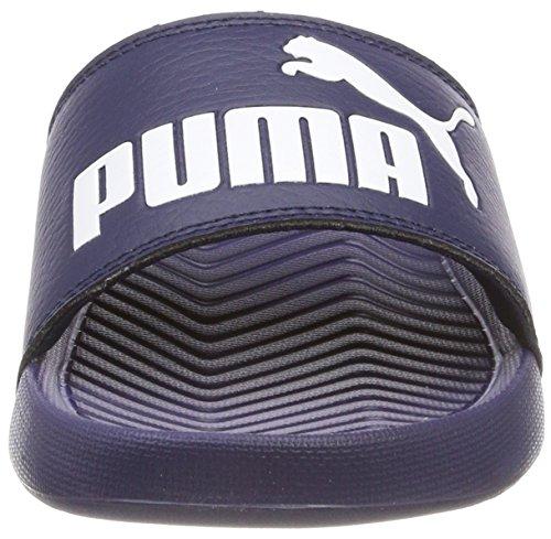 Bleu Puma White de Popcat Mixte Chaussures Piscine puma Plage Peacoat et Adulte qq1r8PTW