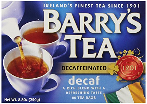 (Barry's Tea Bags, Decaffeinated, 80 Count)