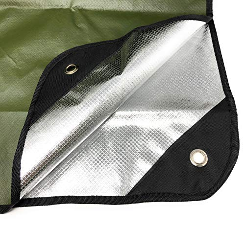 Arcturus Heavy Duty Survival Blanket - Insulated Thermal Reflective Tarp - 60