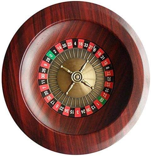 Xuanku 12-Zoll-Spieltisch, Casino-Grade Holz Roulette-Rad, Erwachsenen-Unterhaltung und Entertainment-Produkte, Roulette-Tisch