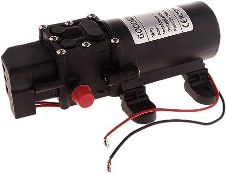 12V Wasserpumpe Druckpumpe Pumpe Membranpumpe Hochdruckpumpe 5L//min Boat Camping