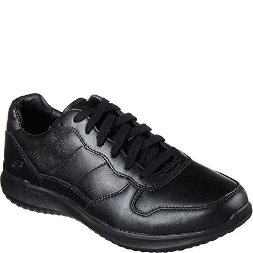 Skechers Uomo Relaxed Fit Fit Delson Romen Nero