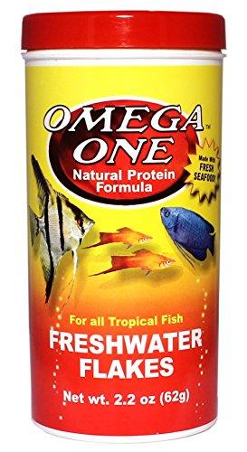 Omega One Freshwater Flakes 2.2oz.