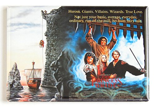 The Princess Bride Movie Poster Fridge Magnet (2 x 3 inches) hs