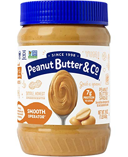 Peanut Butter & Co. Smooth Operator Peanut Butter,...