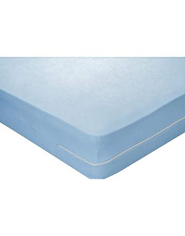 Pikolin Home - Funda de colchón rizo algodón, bielástica, 150x190/200cm-Cama