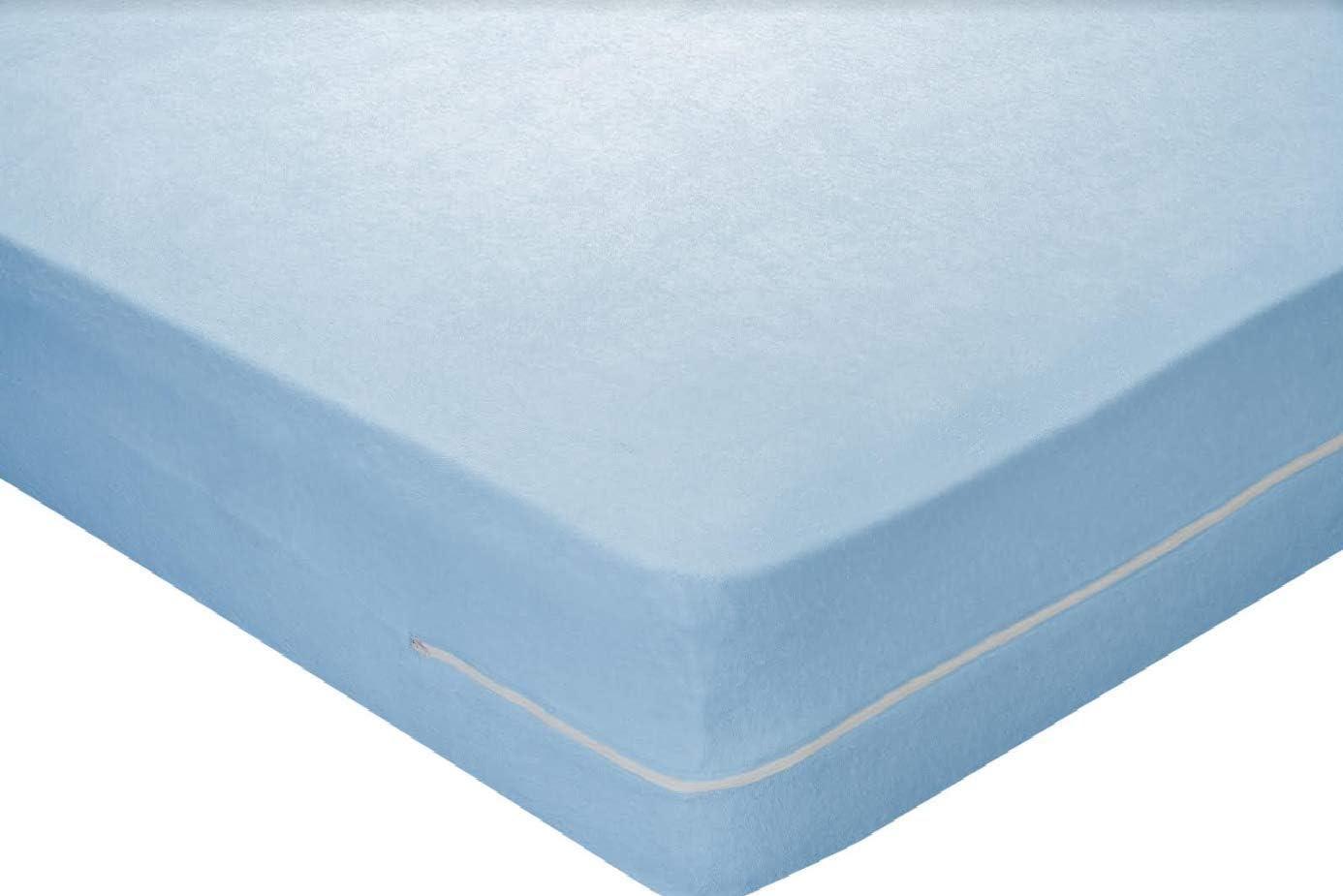 Pikolin Home - Funda de colchón rizo algodón, bielástica, 105x190 ...