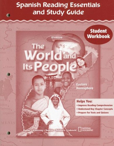 The World and Its People: Eastern Hemisphere, Spanish Reading Essential and Study Guide: Student Workbook por McGraw-Hill