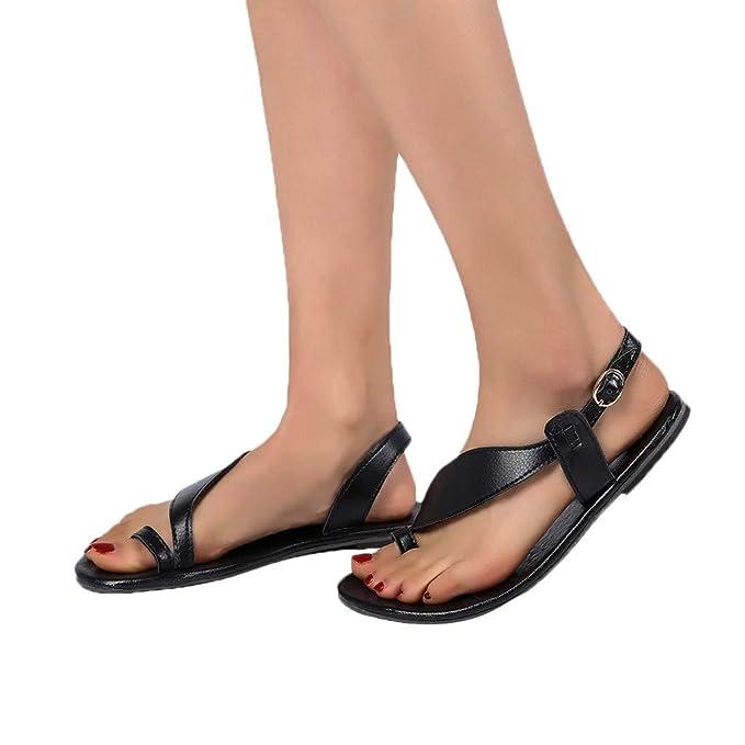 0688e2678cf67 Amazon.com  Women Flat Heel Roma Sandals