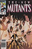 #8: New Mutants, The #28 (Mark Jewelers) FN ; Marvel comic book