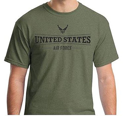 United States Air Force Tshirt (XL, OD Green)