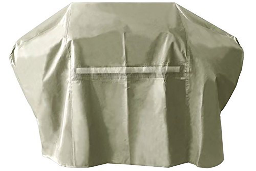 i COVER Grill Cover- 65 Inch 600D Heavy-Duty water proof patio outdoor khaki Canvas BBQ Barbecue Smoker/Grill Cover G22705 for weber char-broil Brinkmann Holland and JennAir