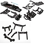 traxxas parts stampede body - TRAXXAS BIGFOOT CHASSIS BLACK 3622 AND BODY MOUNTS TOWERS ALSO FITS THE SKULLY, CRANIAC, AND 2WD STAMPEDE..