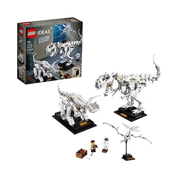 LEGO Ideas 21320 Dinosaur Fossils Building Kit (910 Pieces)