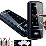 SAMSUNG SHS-1321 digital door lock keyless touchpad security EZON + 4pcs of RFID Cards + 4pcs of Key Tags + 4pcs of Sticky Key Tags