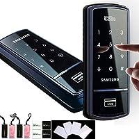 SAMSUNG SHS-1321 digital door lock keyless touchpad security EZON + 4pcs of RFID Cards + 4pcs of Key Tags + 4pcs of Sticky Key Tags