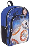 Star Wars Backpack for Kids Boys Featuring BB8 (Star Wars School Supplies)