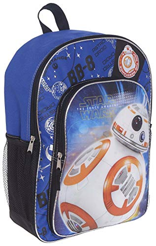 Star Wars Backpack for Kids Boys Featuring BB8 (Star Wars School Supplies)]()