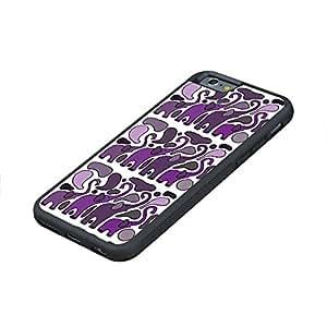 Cateyes Fun Purple Elephants Art Iphone 6 Case